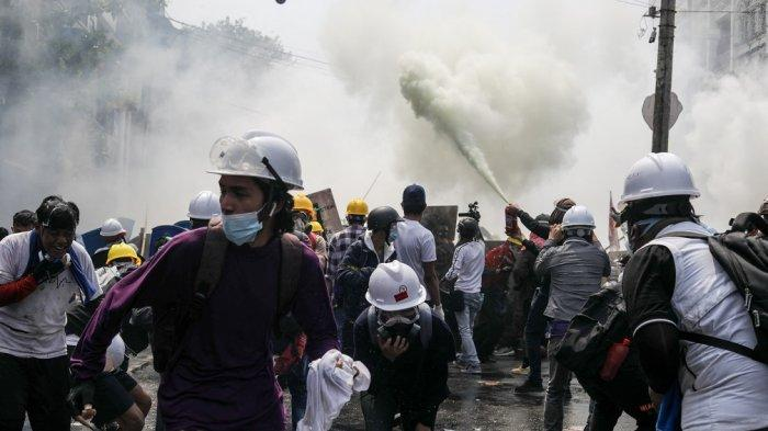 3 Demonstan Lagi Kritis, Pasukan Keamanan Myanmar Terus Gunakan Kekerasan Hadapi Unjuk Rasa