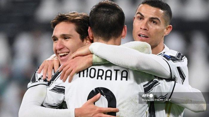 Ini Link Live Streaming Juventus Vs Fiorentina Serie A Liga Italia, Ronaldo dan Morata Ngamuk