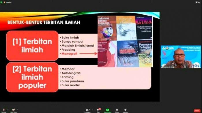 Adakan Workshop Penulisan Buku Referensi dan Monograf, USM Dorong Dosen Produktif Menulis Buku