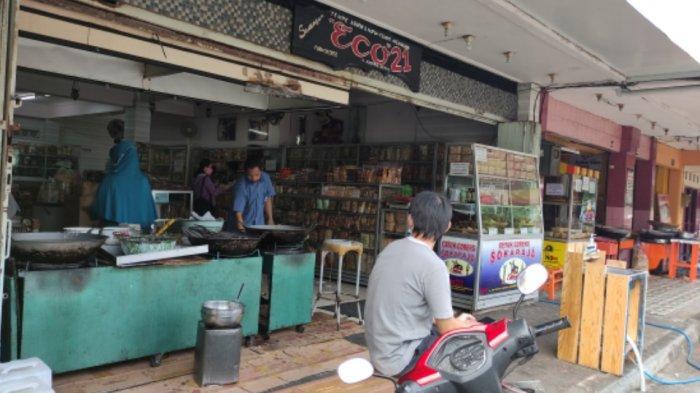 Dampak Larangan Mudik, Pusat Oleh-Oleh Sawangan Purwokerto Sepi Pembeli