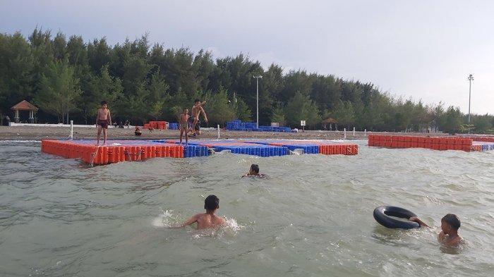 Pantai Alam Indah Tegal Jadi Tempat Rekomendasi Ngabuburit