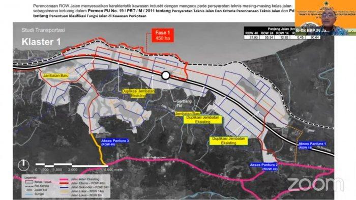 Penampakan Desain Infrastruktur Akses ke KIT Batang
