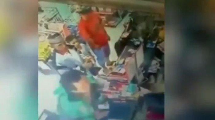 Viral Video Driver Ojek Online Ojol Tampar Kasir Cewek Minimarket, Begini Akhir Nasib Penampar