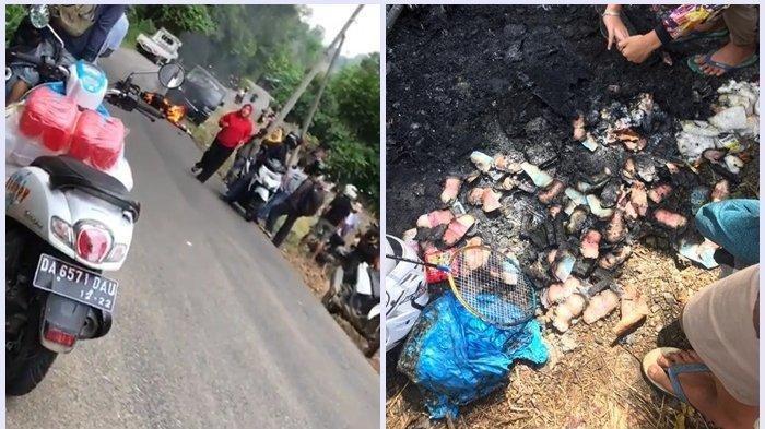 Innalillahi Wa Innailaihi Rojiun, 1 Keluarga Tewas Kecelakaan Tabrak Mobil, NMax dan Uang Terbakar