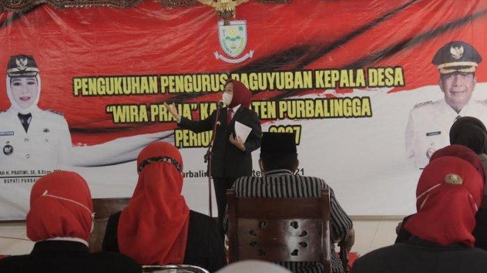 Bupati Tiwi Berpesan Paguyuban Wira Praja Wajib Perkuat Sinergi Membangun Purbalingga