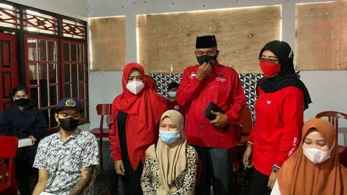 HUT Ke-76 RI Dewi Aryani dan DPC PDI-P Kabupaten Tegal Gelar Vaksinasi Massal di 160 Titik