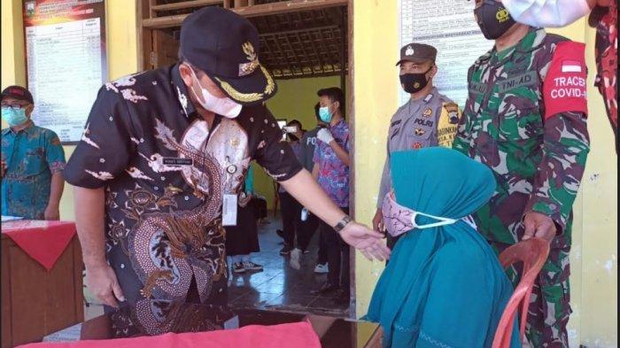 Cek Penyaluran BST, Bupati Semarang Minta Warga Bijak Belanjakan Uang
