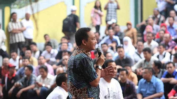 Marmo -Zuber Laksanakan Kampanye Terbuka di Lapangan Tri Lomba Juang
