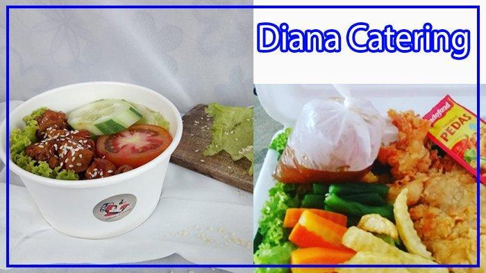 Praktis Tinggal Lheb, Pesan di Diana Catering