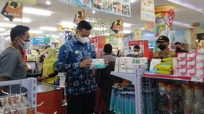 Hasil Sidak Bupati Kendal ke Swalayan tentang Protokol Kesehatan dan Ketersediaan Stok Masker