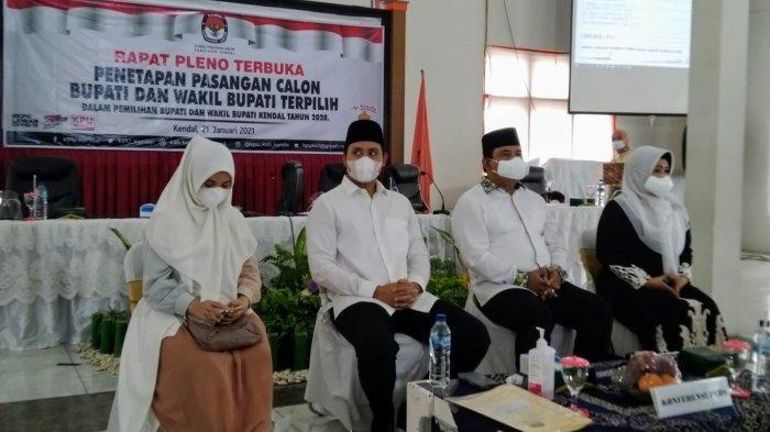 KPU Kendal Tetapkan Dico-Basuki Sebagai Bupati dan Wakil Bupati Terpilih