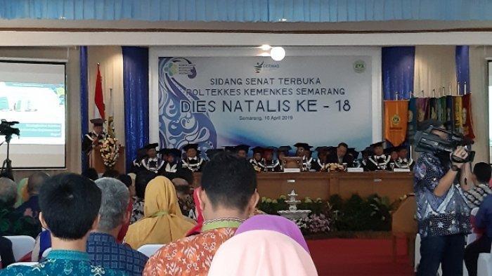Dies Natalis Poltekkes Kemenkes Semarang, Optimis Turunkan Angka Stunting Jadi 20% Tahun 2020