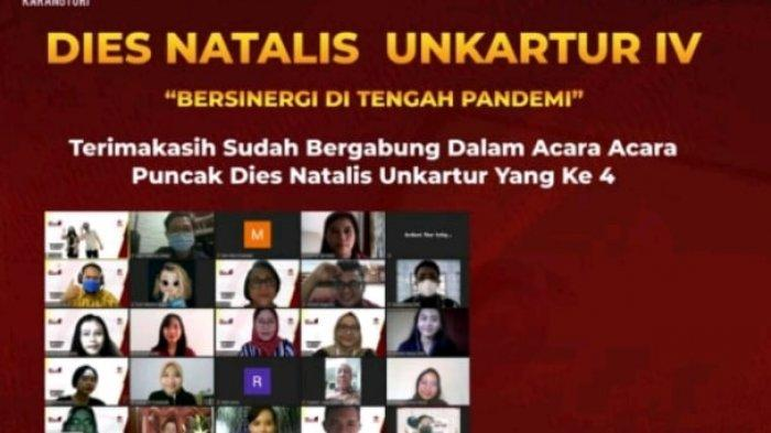 Dies Natalis Universitas Nasional Karangturi IV Bersinergi di Tengah Pandemi