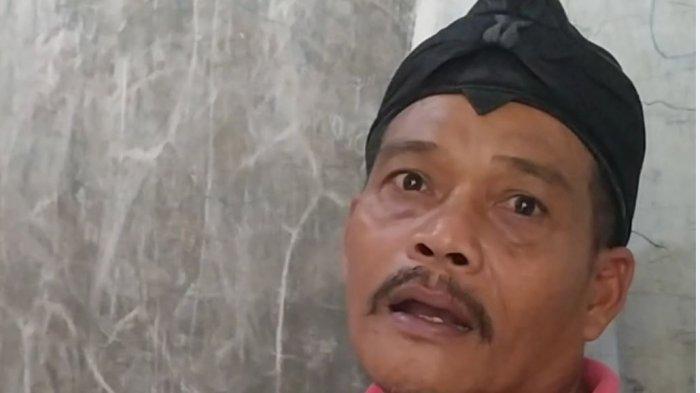 Sukarto kakek Helmi saat ditemui Tribunjateng.com di rumahnya yang ada di Desa Surajaya Kecamatan Pemalang, Kabupaten Pemalang, Selasa (22/3/2021).