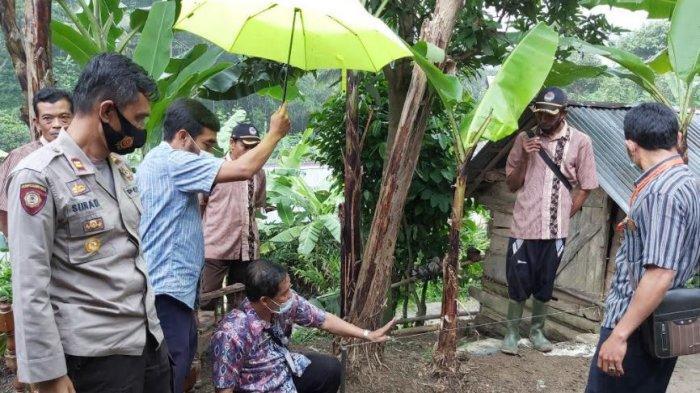 Empat Titik Lokasi Tanah Gerak di Desa Bodas Pekalongan Dipasang EWS