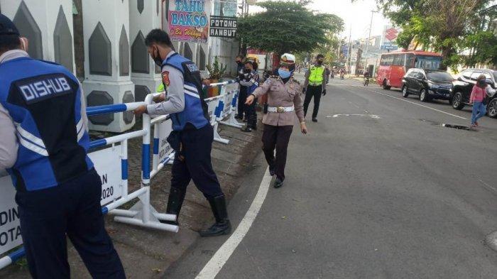Hore! Ruas Jalan Ditutup di Kota Semarang Selama Pandemi Covid-19 Sudah Dibuka Kembali