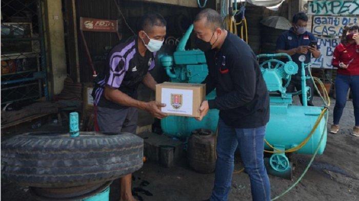 Pemerintah Kota Semarang melalui Dinas Perhubungan Kota Semarang Serahkan Bantuan Sembako