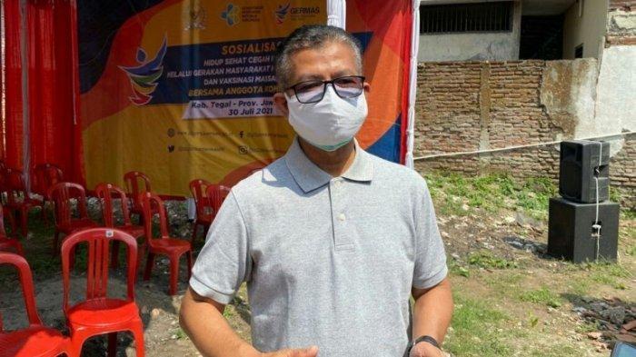 Perkembangan Kasus Covid-19 di Kabupaten Tegal Masih Naik Turun, Dinkes: Kita Harus Tetap Waspada.