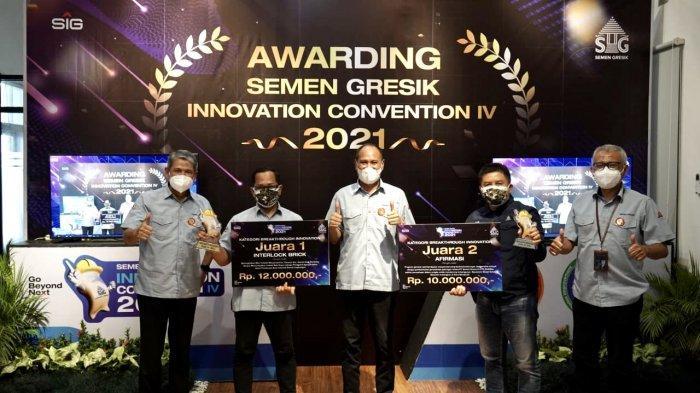 Semen Gresik Beri Penghargaan bagi Inovator Terbaik di Ajang SGIC IV 2021