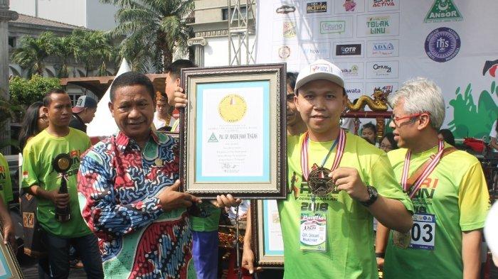 GP Ansor Jateng Raih Rekor Leprid sebagai Pemrakarsa Kampanye Merajut Persaudaraan