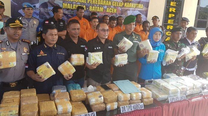 Rutan Polrestabes Semarang Dipadati Tersangka Kasus Narkotika