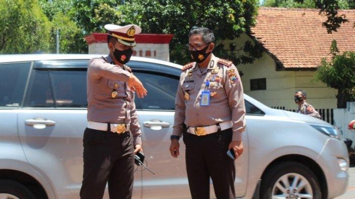 Ditlantas Polda Jateng Razia Kendaraan Pelat Luar Provinsi saat Pelarangan Mudik