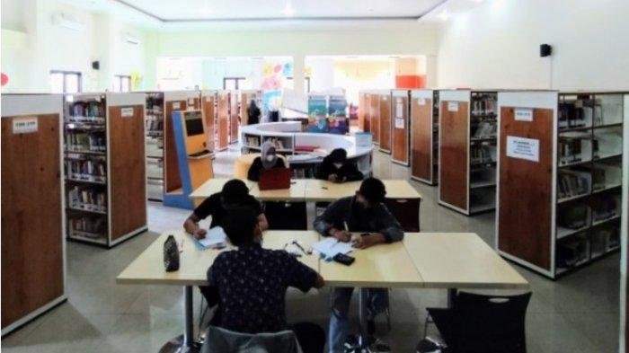 Layanan Perpustakaan Disarpus Karanganyar Mulai Dibuka Hari Ini, Jumlah Pengunjung Dibatasi