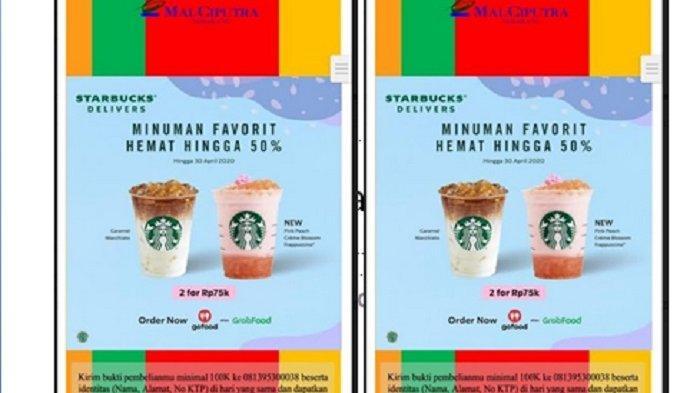 Ini Deretan Promo Kuliner Mal Ciputra Semarang, Starbucks dan Pizza Hut Hanya Sampai Hari Ini
