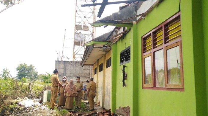 Disdikbud Kendal Fasilitasi Perbaikan SMPN 3 Kaliwungu yang Terbakar