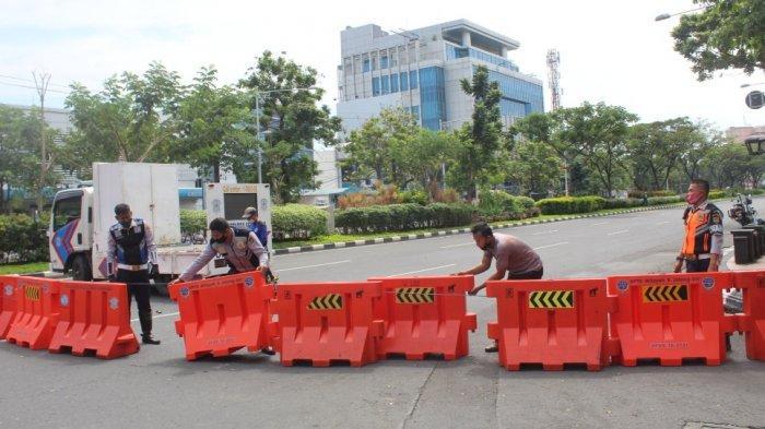 Ini 23 Jalan yang Masih Ditutup di Kota Semarang, Simpanglima Buka Sampai Pukul 20.00
