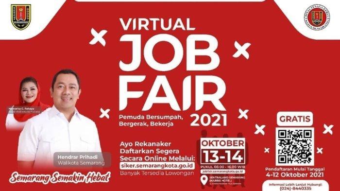 Disnaker Kota Semarang Gelar Virtual Job Fair, Ada 30 Perusahaan, Ini Cara Daftarnya