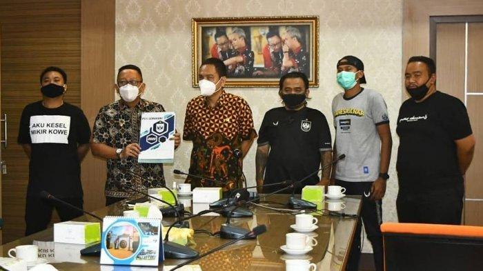 Manajemen PSIS dan DPP Panser Biru Datangi Disporapar Jateng, Ini Hasil Audiensinya