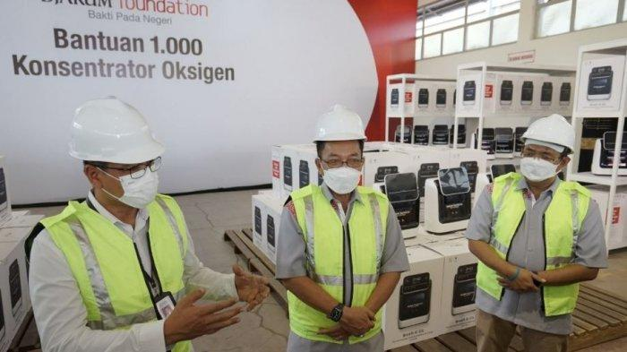 Djarum Foundation Berikan 1.000 Unit Konsenator Oksigen untuk Bantu Pasien Covid-19