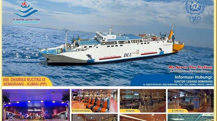 Inilah Jadwal Keberangkatan Kapal Penumpang dari Tanjung Emas Besok