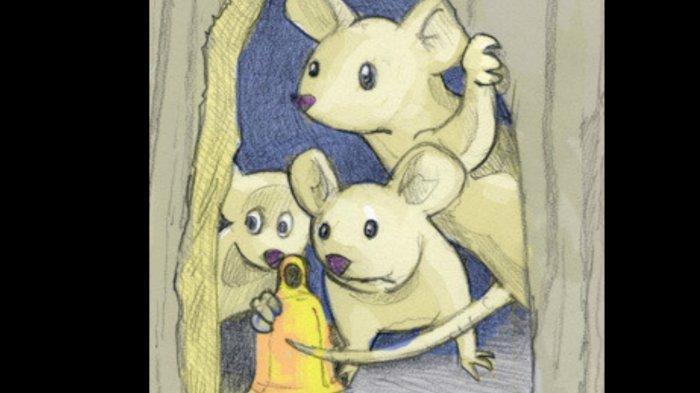 Dongeng 3 Tikus dan Lonceng Kucing