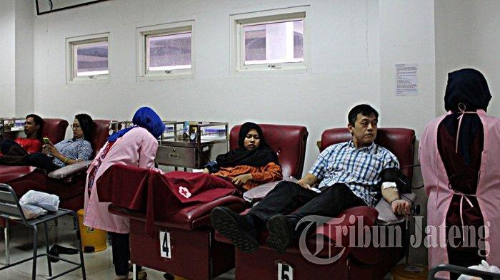 Jadwal Pelayanan Donor Darah PMI Kota Semarang Rabu 10 Februari 2021 Buka di Empat Lokasi