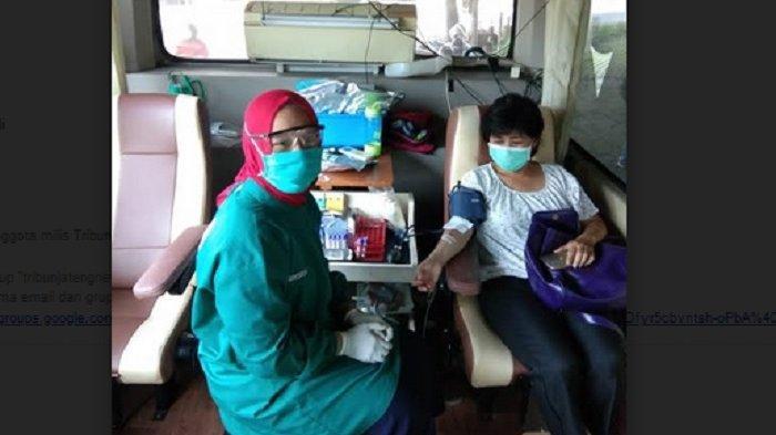 Jadwal Pelayanan Donor Darah PMI Kota Semarang Selasa 4 Agustus 2020 Buka di Lima Lokasi
