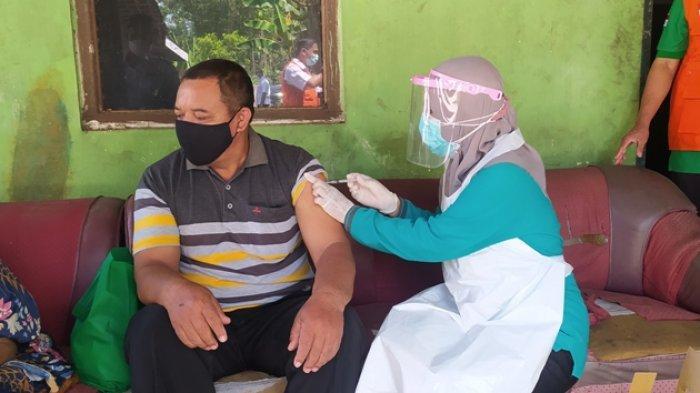 Stok Vaksin di Sragen Aman Sampai Dosis Kedua
