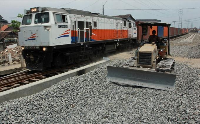 Jalur Rel Ganda Alastuwo-Tawang Sepanjang Delapan Km Dioperasikan