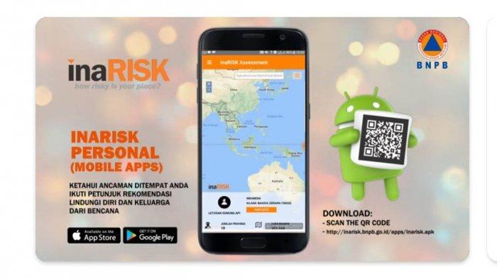 Link Download Aplikasi InaRISK, Disarankan BPBD Batang