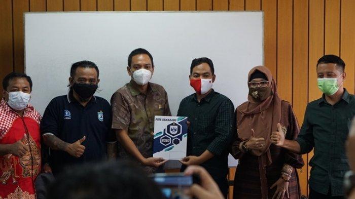 Perjuangkan 2021 Kembali ke Jatidiri, Suporter PSIS Panser Biru Audiensi dengan Komisi E DPRD Jateng