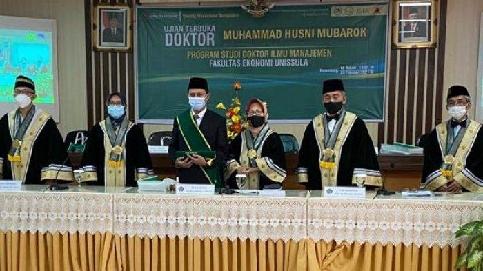 Husni Mubarok Promosi Doktor di PDIM Unissula Semarang