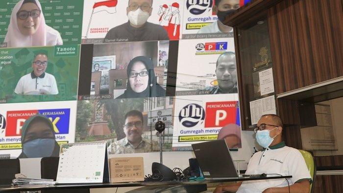 Tanoto Foundation Bersama UNY Yogyakarta Diskusikan Keberlanjutan Program Kerja Sama