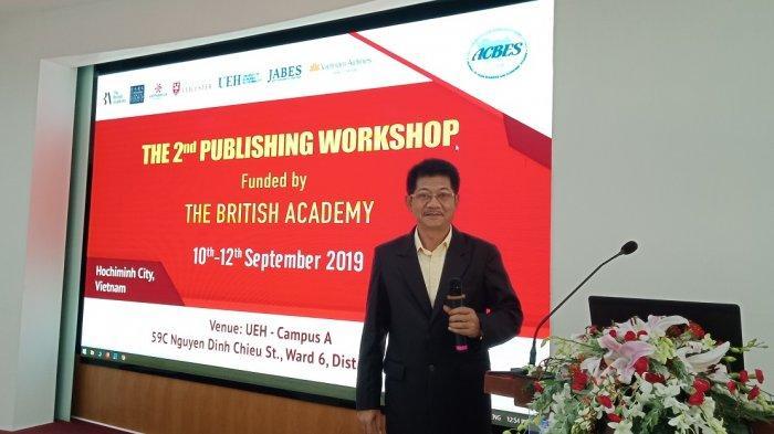 Dr Agus Trihatmoko Sebut Buku Ekonomi Murakabi Sudah Terbit Dalam 8 Bahasa