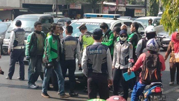 32 Driver Ojol Ojek Online Kota Semarang Ditilang, Gara-Gara Mangkal di Daerah Larangan Parkir