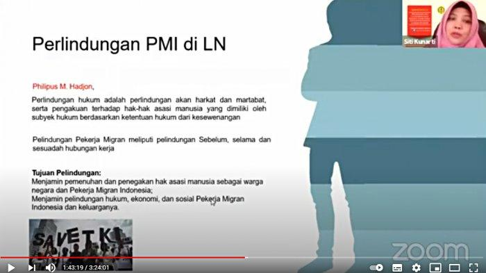 Dr.Siti Kunarti SH.,M.Hum (Dosen Hukum Ketenagakerjaan FH Unsoed)