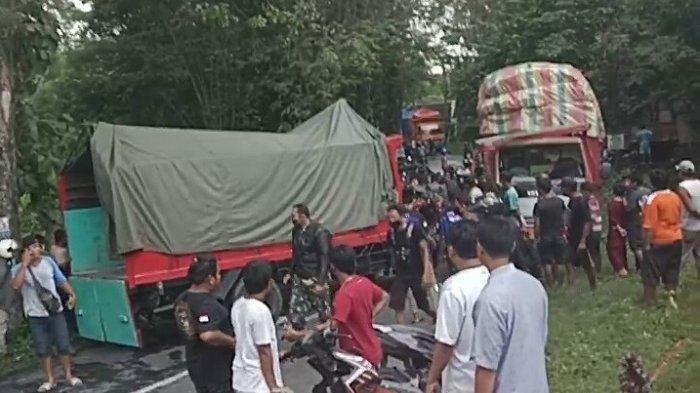 Kecelakaan di Sukoharjo Truk Adu Banteng, Ini Kronologi Menurut Kepolisian