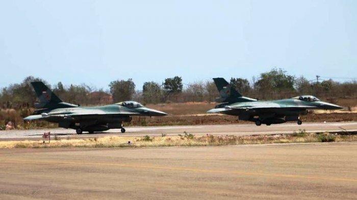 TNI Kerahkan 2 Pesawat Tempur F-16 & Helikopter di Batas Australia dan Timor Leste, Ada Apa?