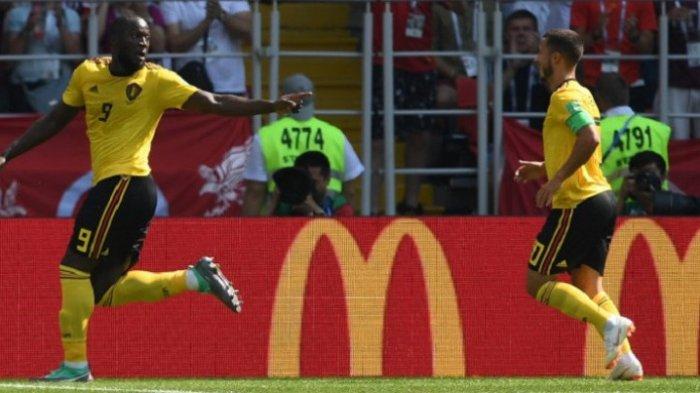 Piala Dunia 2018 - Jelang Inggris Vs Belgia : Romelu Lukaku Dikabarkan Cedera