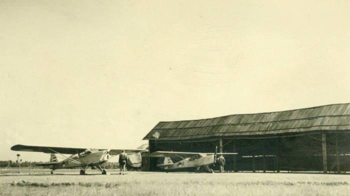 Foto-foto Belanda Membangun Bandara Jenderal Besar Soedirman Purbalingga, Awalnya Pangkalan Militer